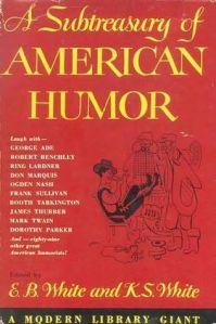 E. B. White, subtreasury of american humor, frog