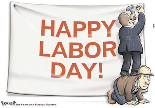 Image result for cartoon happy labor day
