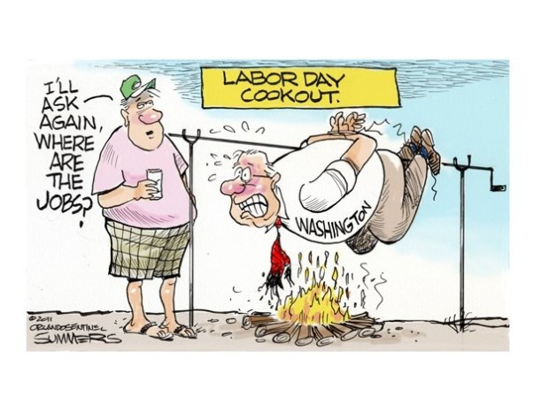 labor day humor jokes cartoon jobs