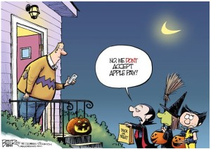 Halloween political cartoons