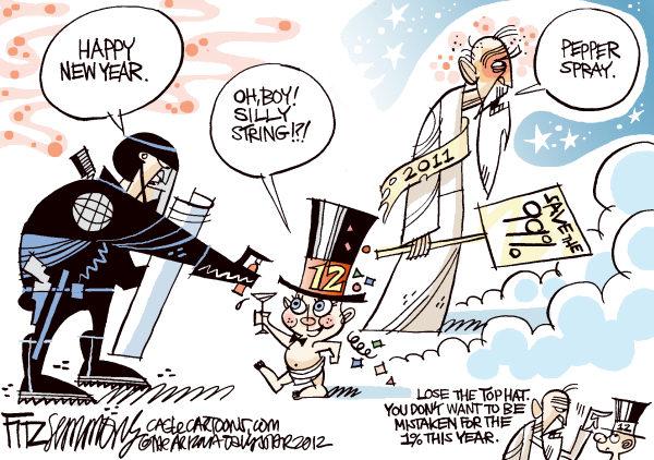 Happy New Year\'s!   Humor in America