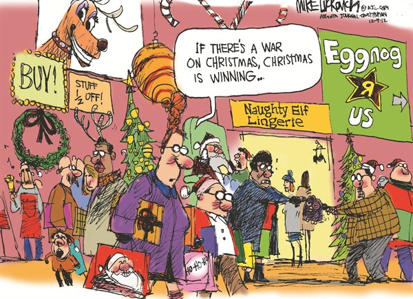 war on christmas cartoon