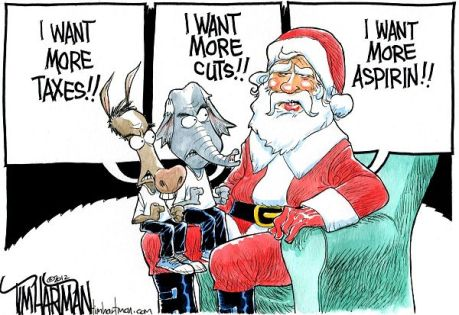 Image result for christmas political cartoons