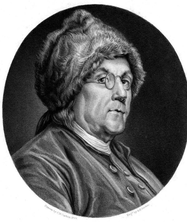Benjamin Franklin fart proudly