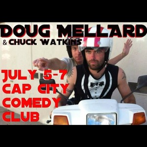 Doug Mellad Chuck Watkins Cap City Comedy Club austin