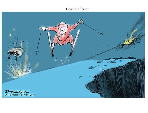 Putin Downhill