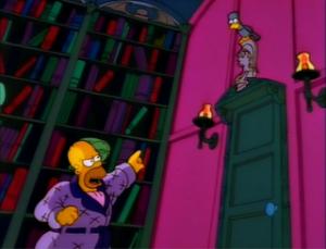Edgar Allan Poe Simpsons Homer Simpson