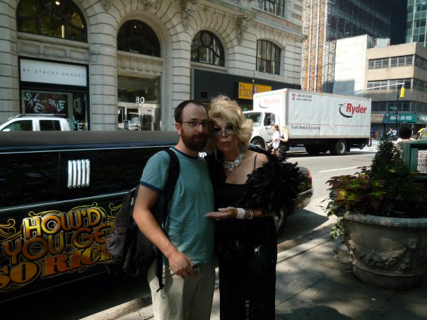 Joan Rivers and Tracy Wuster