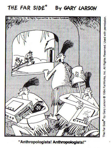 Gary Larson anthropologists far side anthropology