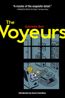 The Voyeurs by Gabrielle Bell (2012) graphic novel humor