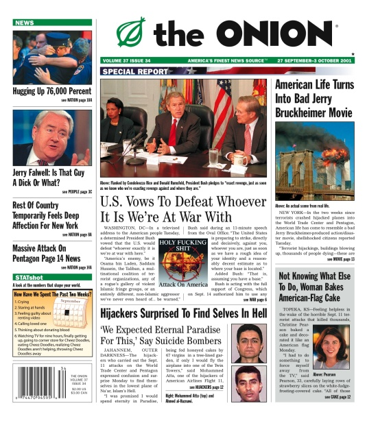 The Onion 9_11 cover