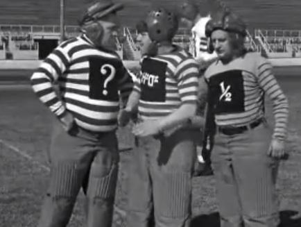Three Stooges on the Field