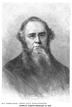Edwin Stanton: just as funny as he looks