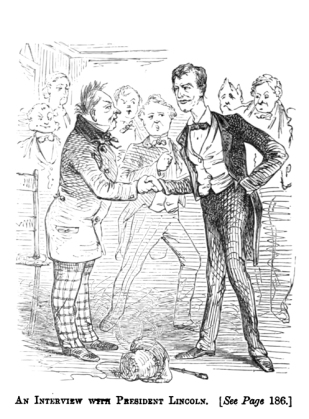 When Ward presumably met Lincoln: a convergence of genius