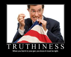 Colbert and Truthiness 2