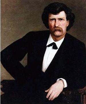 Mark Twain samuel clemens portrait painting 1877