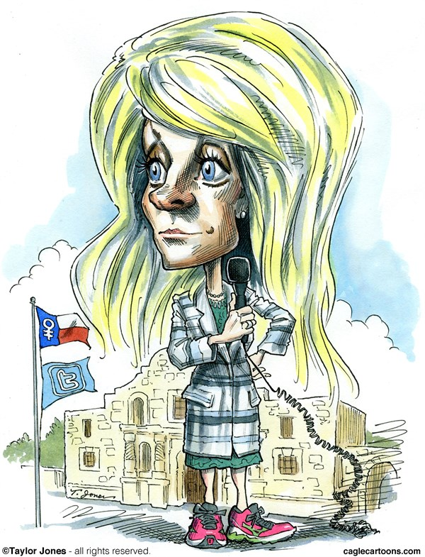 wendy davis filibuster cartoon comic