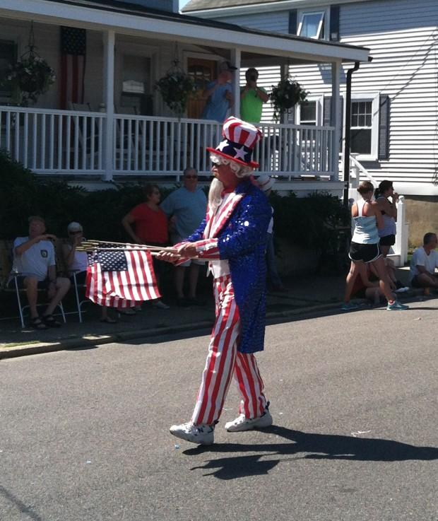Drunk Uncle Sam