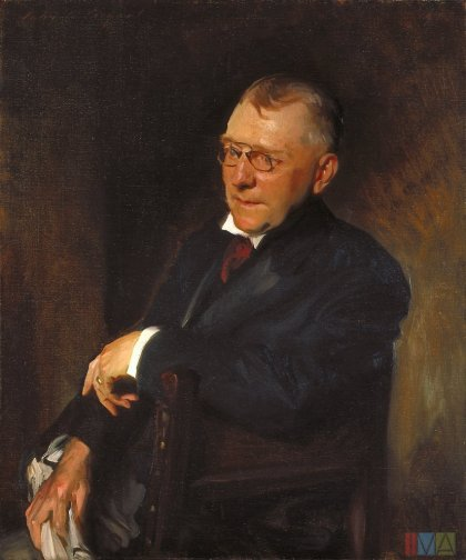 James Whitcomb Riley, 1903, John Singer Sargent