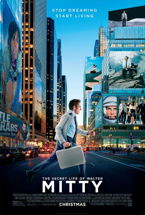 "Poster for ""The Secret Life of Walter Mitty"" (2013)"