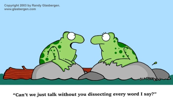Frogs and Language