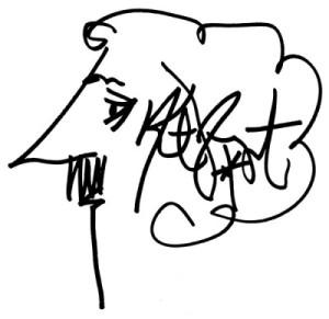 KV signature portrait