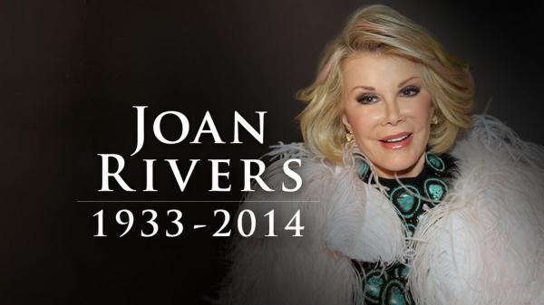 Joan Rivers picture in memoriam