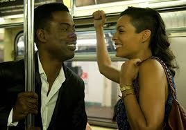 Chris Rock and Rosario Dawson in Top Five (2014)