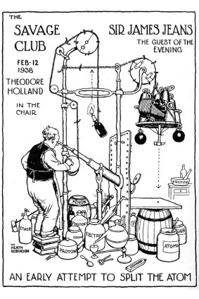 Heath Robinson Atom Splitting