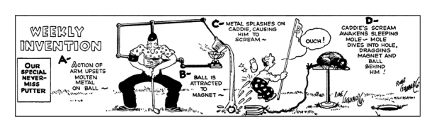 Rube Goldberg Putter