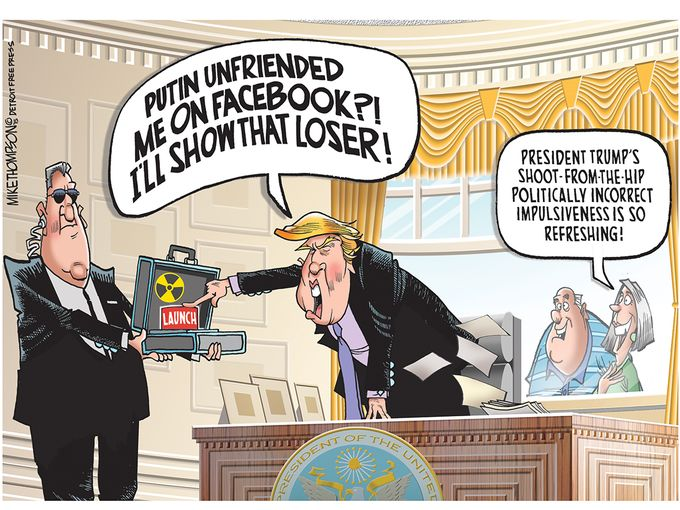 Donald Trump Cartoons Humor In America