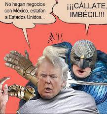 Political cartoons on Donald Trump and Spanish language ...