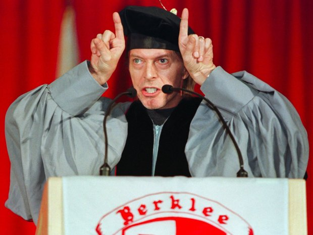 david bowie berklee college music commencement speech